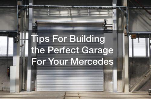hot rod garage Mercedes